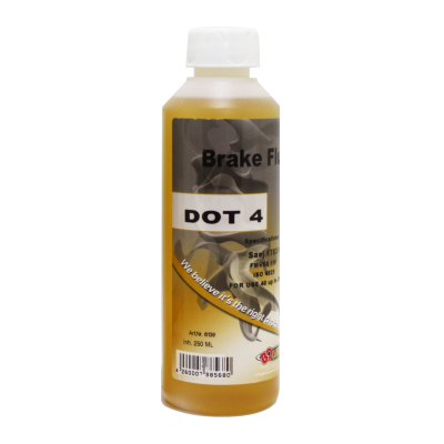 BO Motor oil brzdová kapalina DOT 4 250 ml