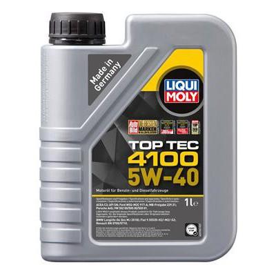 Liqui Moly TOP TEC 4100 5W-40 1 l (9510)