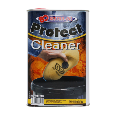 BO Motor oil Protect Cleaner, mytí na filtry 4l