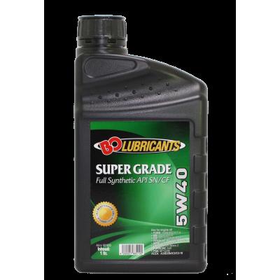 BO MOTOR-OIL Super Grade 5W-40 SN/CF Full Synthetic 1l