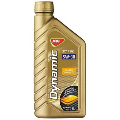 MOL Dynamic Star PC 5W-30 Peug.Citroen. 1L