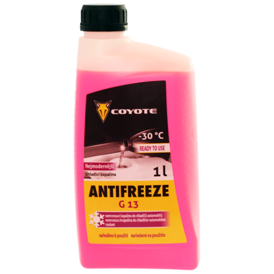 COYOTE Antifreeze G13 READY -30°C 1L