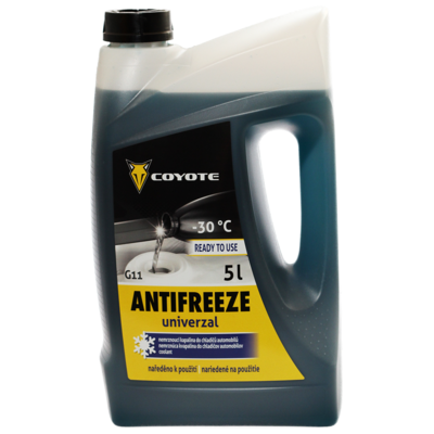 COYOTE Antifreeze G11 Univerzal READY -30°C 5L