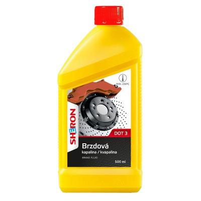 Sheron brzdová kapalina DOT 3 0,5l