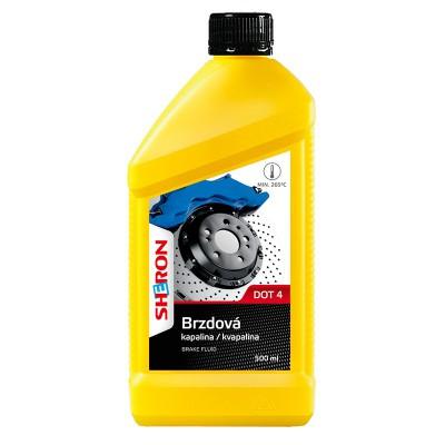 Sheron brzdová kapalina DOT 4 0,5l